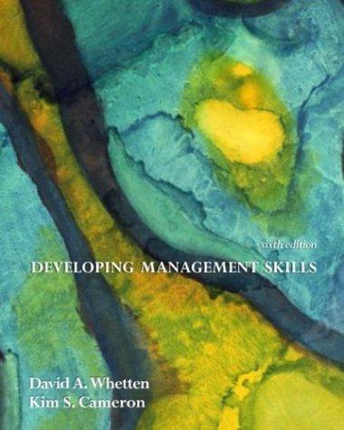 9780131441422: Developing Management Skills