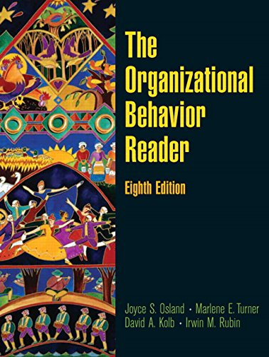 The Organizational Behavior Reader (8th Edition): Joyce S Osland,
