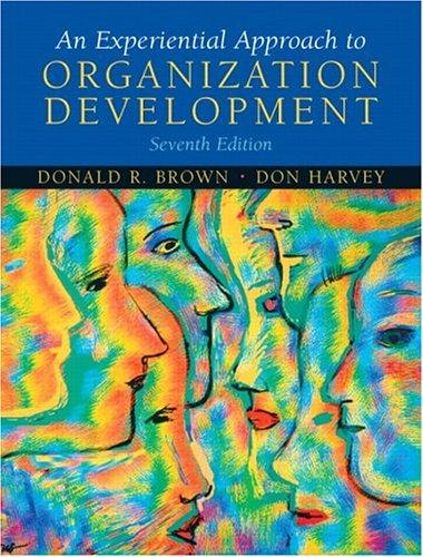 9780131441682: An Experiential Approach to Organization Development