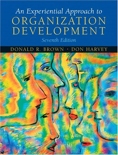 9780131441682: An Experiential Approach to Organization Development (7th Edition)