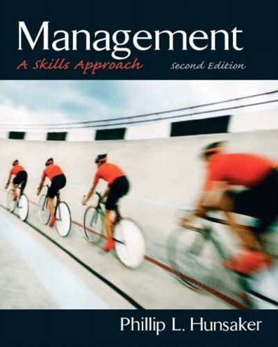 9780131441866: Management: A Skills Approach (2nd Edition)
