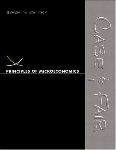 9780131442832: Principles of Microeconomics (7th Edition) (Case/Fair Economics 7e Series)