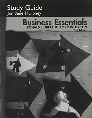 9780131443259: Study Guide for Business Essentials, 5th ed.