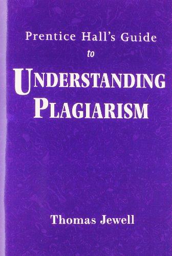 Understanding Plagiarism Format: Paperback: Jewell, Thomas