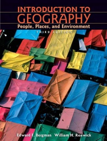 9780131445451: Introduction to Geography: People, Places, and Environment (3rd Edition)