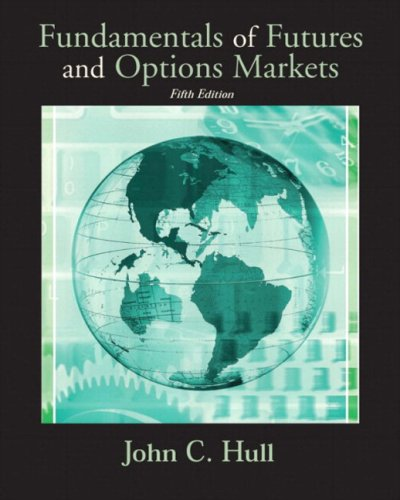 9780131445703: Solutions Manual and Study Guide to accompany Fundamentals of Futures and Options Markets for Fundamentals of Futures and Options Markets