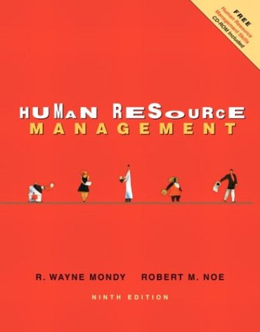 Human Resource Management: Mondy, R. Wayne;