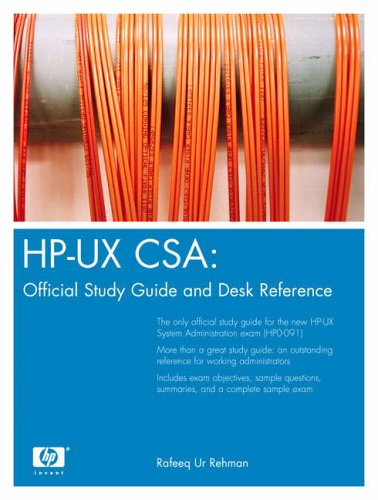 9780131448544: HP-UX CSA: Official Study Guide and Reference (2nd Edition)