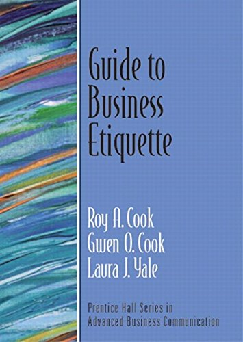9780131449176: Guide to Business Etiquette (Guide to Business Communication Series)