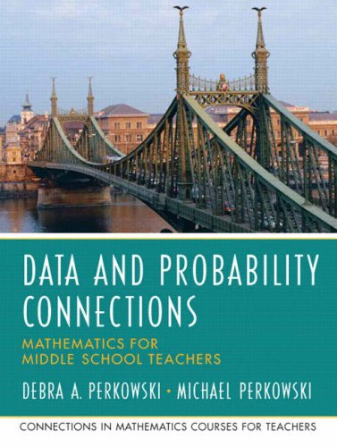9780131449220: Data and Probability Connections: Mathematics for Middle School Teachers