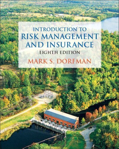 9780131449589: Introduction to Risk Management and Insurance (8th Edition)