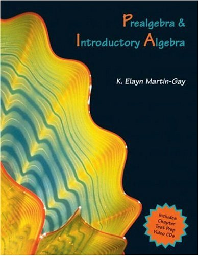 9780131449725: Prealgebra and Introductory Algebra (Martin-Gay Hardback Series)
