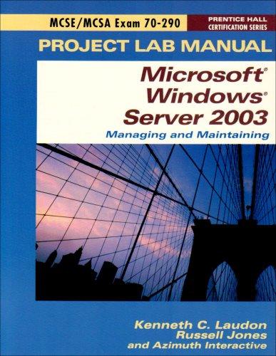 9780131449749: MCSE Exam 70-290 Lab Manual