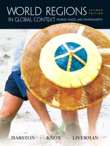 9780131449756: World Regions in Global Context: Peoples, Places, and Environments
