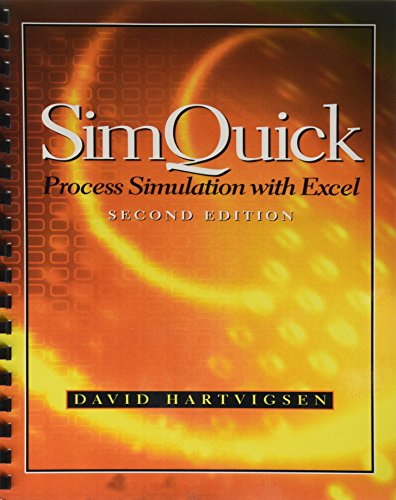 Simquick: Process Simulation With Excel: David Hartvigsen