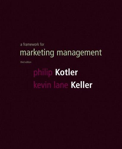 9780131452589: A Framework for Marketing Management