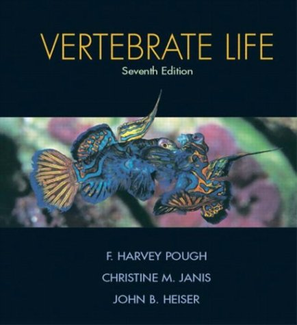 9780131453104: Vertebrate Life (7th Edition)
