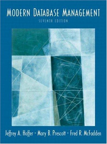9780131453203: Modern Database Management (7th Edition)