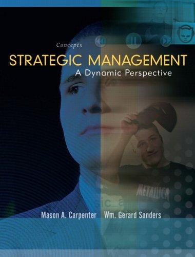 9780131453548: Strategic Management: Concepts