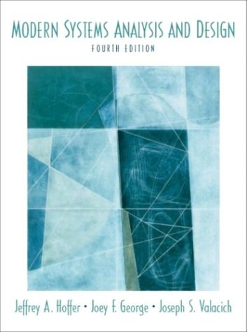 9780131454613: Modern Systems Analysis and Design (World Student)