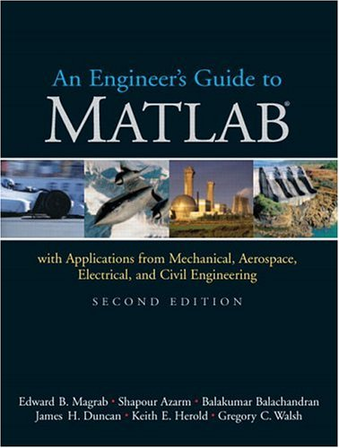 9780131454996: An Engineers Guide to MATLAB