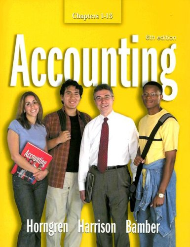 9780131456204: Accounting: Chapters 1-13 (Charles T. Horngren Series in Accounting)