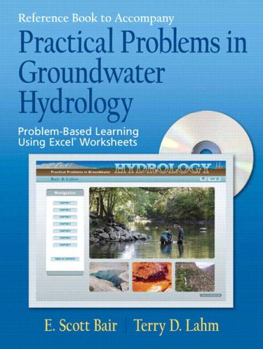 9780131456679: Reference Book to Accompany Practical Problems in Groundwater Hydrology: Problem-Based Learning Using Excel Worksheets