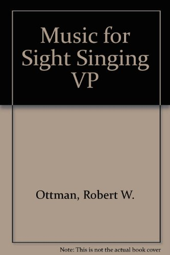 9780131456709: Music for Sight Singing VP