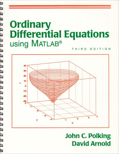 9780131456792: Ordinary Differential Equations Using MATLAB (3rd Edition)