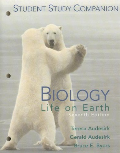 9780131457553: Biology: Life on Earth, 7th Edition (Student Study Companion)