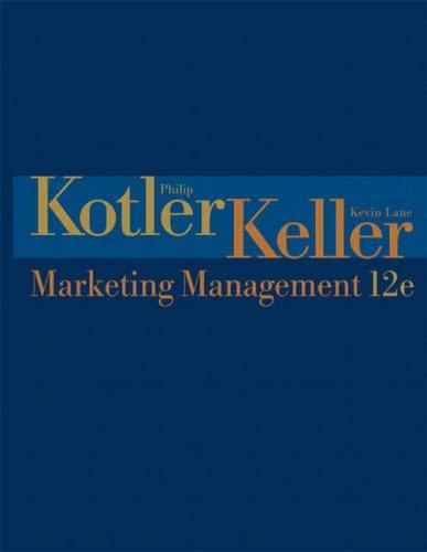 9780131457577: Marketing Management: United States Edition