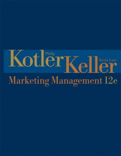 Marketing Management: Kotler, P &
