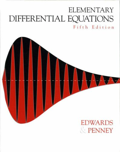 9780131457737: Elementary Differential Equations