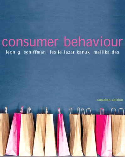 Consumer Behaviour, Canadian Edition: Leon G. Schiffman,