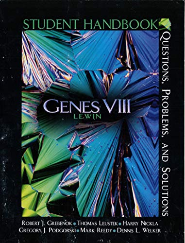 9780131464117: Genes VIII: Solution Handbook, Questions, Problems and Solutions