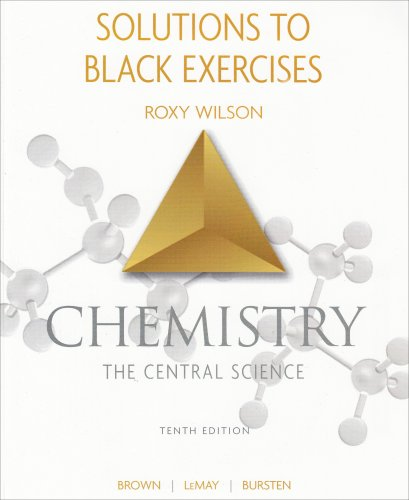 9780131464858: Solutions to Black Exercises Chemistry the Central Science