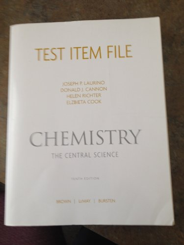 9780131464964: Test Item File Chemistry the Central Science