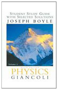 9780131465572: Physics: Student Study Guide Vol. 2, Sixth edition