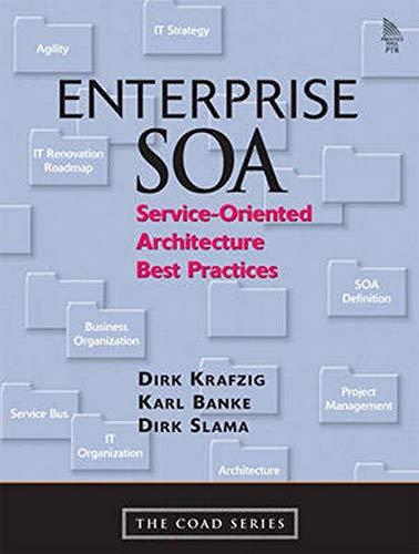 9780131465756: Enterprise SOA: Service-Oriented Architecture Best Practices (Coad)