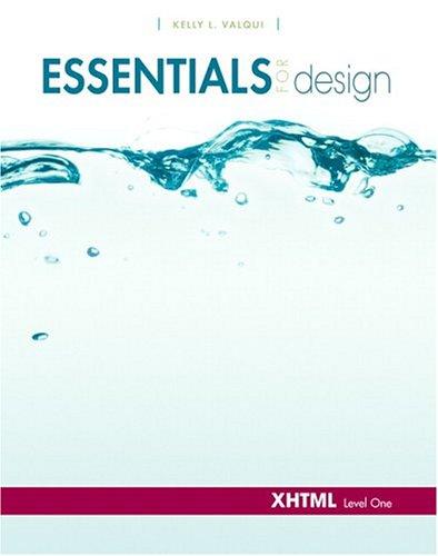 Essentials for Design XHTML- Level 1: Valqui, Kelly L.