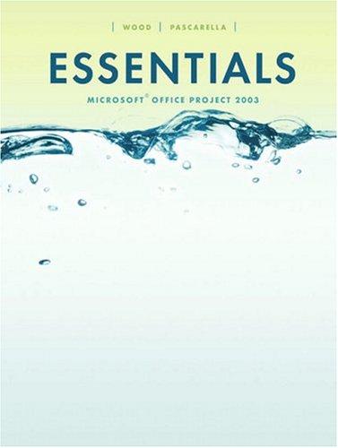 9780131466524: Essentials Microsoft Project 2003