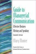 9780131467040: Guide to Managerial Communication (Guide to Business Communication Series) (7th Edition) (Guide to Series in Business Communication)
