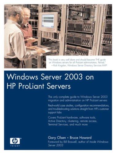 9780131467583: Windows Server 2003 on HP ProLiant Servers