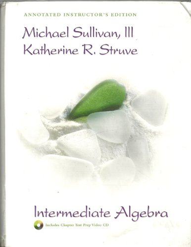 9780131467750: Intermediate Algebra