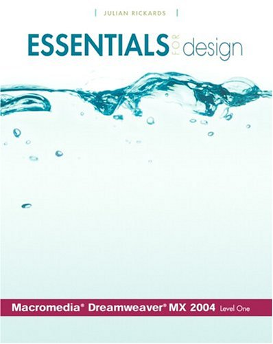 9780131468429: Essentials for Design Macromedia(R) Dreamweaver(R) MX 2004- Level 1