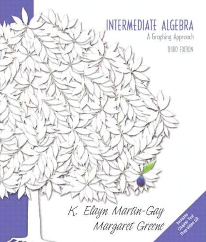 9780131469006: Intermediate Algebra: A Graphing Approach (Martin-Gay Hardback Series)