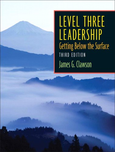 9780131469020: Level Three Leadership (3rd Edition)