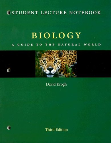 9780131469778: Biology Student Lecture Notebook: A Guide to the Natural World