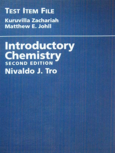 9780131470644: Introductory Chemistry Test Item File, Second Edition