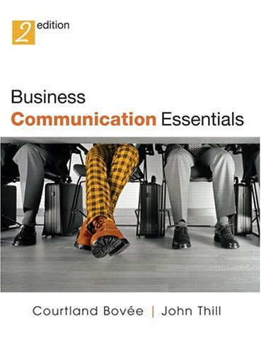 9780131472457: Business Communication Essentials (2nd Edition)